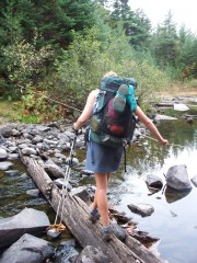 Bald Mountain Stream Crossing . . .