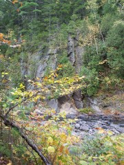 Cliff on West Branch, Piscataquis River