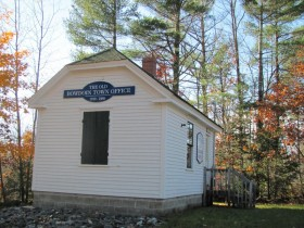 Old Bowdoin Town Office now the Historical Society (2010)