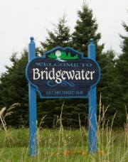 Sign: Welcome to Bridgewater