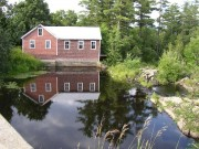 Old Mill on Marsh Stream (2003)