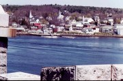 Bucksport Harbor from Fort Knox (2001)