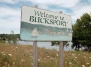 Sign: Welcome to Bucksport (2002)
