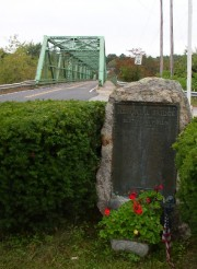 Veterans Memorial at Memorial Bridge over the Saco River (2003)
