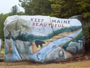 Photo: Painted Rock Near the Park (1999)