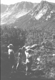 Photo: Youngsters on a Hike (c. 1940)