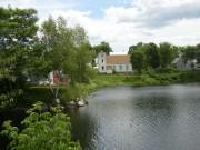 Along the Pond Near the Village