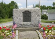 Veterans Memorial in the Village