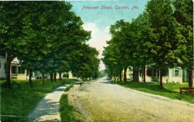 Pleasant Street, postcard c. 1905
