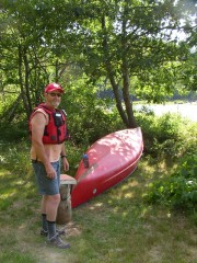 Steve Longley, Kennebec Ferryman for AT Hikers (2007)