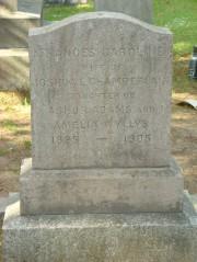 Detail Side of Fanny's Gravestone (2008)