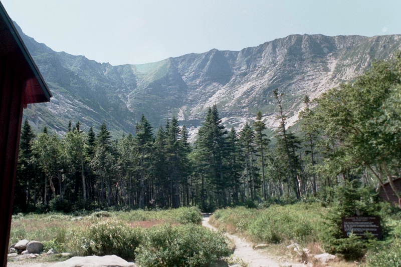 Chimney Pond Campground Baxter Park | Maine: An Encyclopedia