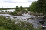 Abandoned Dam on the Pleasant River in the Main Village (2004)