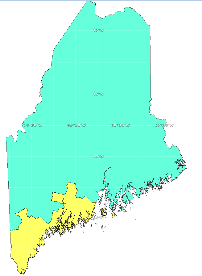 Elections Congressional Districts  Maine An Encyclopedia