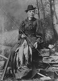 "Cornelia ""Fly Rod"" Crosby (Maine State Museum)"