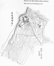 Map of the Whaleback (1966)