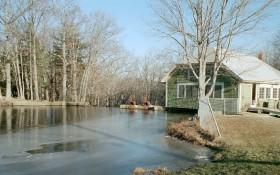 Pond at Dam Site (2003)