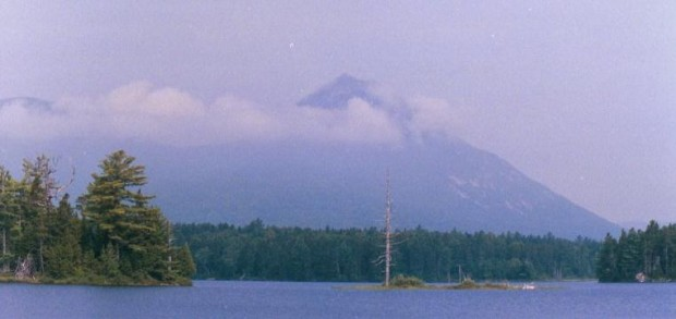 Double Top Mountain from Kidney Pond (2002)