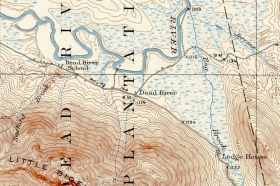 Dead River Settlement 1928