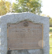 Rev. Powers Plaque (2003)