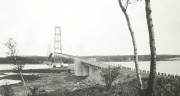 Deer Isle Bridge from Sedgwick, c. 1940 (George French, Courtesy Maine State Archives)