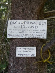 Rules for Dix Island Visitors (2007)
