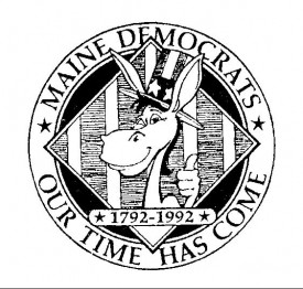 Logo on the 1992 Democratic Platform Publication