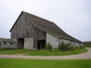 Old Barn in Dyer Brook on Route 2 (2003)