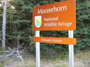 Sign: Moosehorn National Wildlife Refuge (2004)