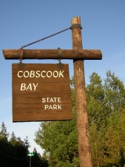 Sign: Cobscook Bay State Park (2004)