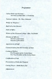 Program, 2004 Maine Electoral College, p. 3