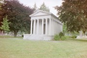 One of the Substantial Mausoleums in Evergreen (2002