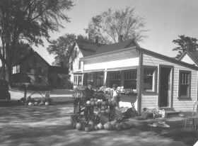 Roadside Vegetable Stand, North Windham (1938)