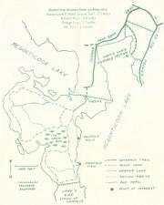 Map of Fernald's Neck Preserve (2003)
