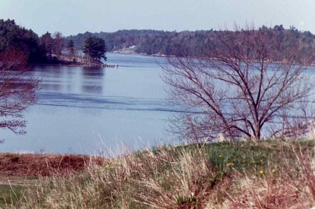 The Sheepscot and the Narrows from Fort Edgecomb (2001)