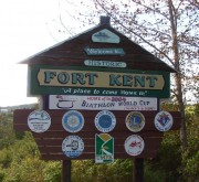 Sign: Welcome to Fort Kent (2003)