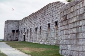 Fort Knox Entrance on Penobscot River Side (2001)