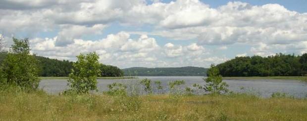 Marsh River, South Branch toward Marsh Bay (2003)