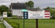 Village Scene in South Gouldsboro (2004)