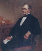 Hannibal Hamlin Portrait as Governor