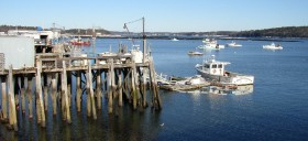 Wharf and Boats in Cundy's Harbor (2003)