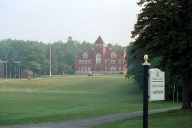 Hebron Academy, Sargent Gym (left) (2003)