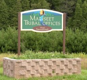 Sign: Maliseet Tribal Offices (2003)