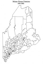 Maine State House Districts 1994-2002