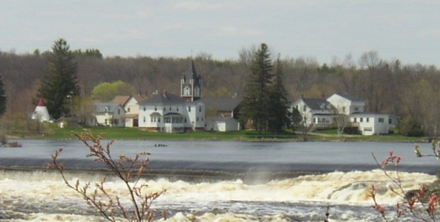 Indian Island in the Penobscot River (2005)