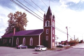 St. Anne's Church on Indian Island (2001)