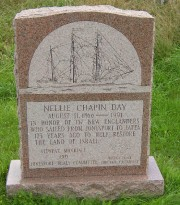 Monument to the Nellie Chapin Day expedition