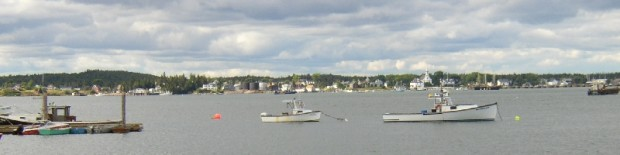 Jonesport from Beals Harbor