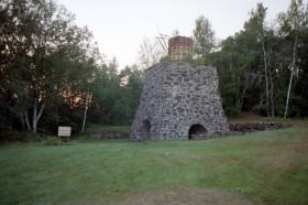 Remains of the Blast Furnace at Katahdin Iron Works (2002)