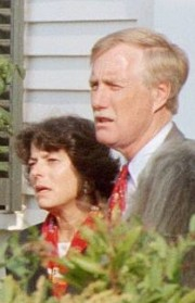 Governor King and his wife, Mary Hermon (2002)